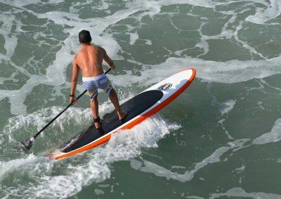 Paddle Board the coast.